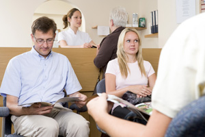 patient survey waiting room