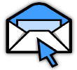 Medical email account setup icon